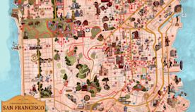 'The Last Black Man in San Francisco' director creates map of the city featuring things he loves