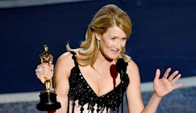 Laura Dern wins her first Oscar for Marriage Story, thanks legendary parents