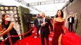 Catherine Zeta-Jones Channels Morticia Addams The 2021 Emmys