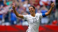 The Rush: Carli Lloyd on reuniting with her family, staying on top of her game and changing a few soccer rules