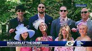 Aaron Rodgers attends Kentucky Derby