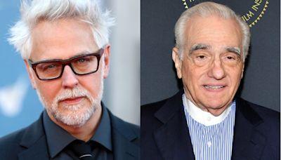 Director James Gunn implies Martin Scorsese criticized Marvel movies because it's 'the only thing that would get him press' for 'The Irishman'