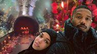 Michael B. Jordan Surprises Lori Harvey With an Over-the-Top Romantic Date Night