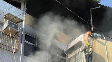 台中民宅火災!父子倉皇逃生獲救 阿公倒房間喪命 | 蘋果新聞網 | 蘋果日報