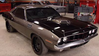 1971 Plymouth 'Cuda Restomod Built For Dana White