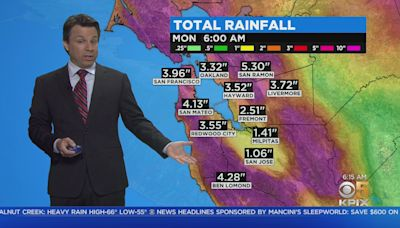 Storm Watch Forecast: The latest storm forecast from the KPIX 5 weather team