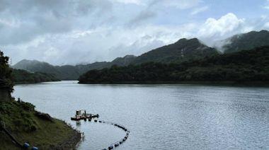 烟花颱風外圍環流掃進124毫米降雨 石門水庫持續調節性放水