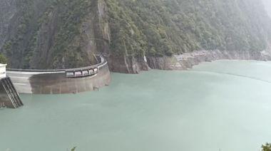 颱風烟花帶來降雨 德基水庫蓄水率近50% (圖)
