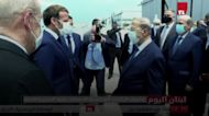 French president becomes first world leader to visit Beirut after explosion