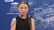 Youth Climate Activist Greta Thunberg Delivers Fierce Speech Before French Parliament