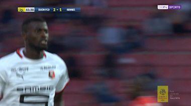 Niang volleys home Rennes equaliser