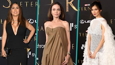 Angelina Jolie, Salma Hayek and More 'Eternals' Stars Skip Women In Hollywood Event Due To Covid-19 Exposure