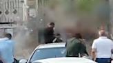 敘利亞親友紛爭竟引爆手榴彈!爆炸瞬間畫面曝光│TVBS新聞網