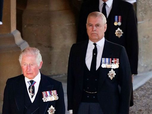 Prince Charles 'encouraged Queen to make brother Andrew give up royal duties' following BBC Epstein interview