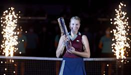 Kontaveit defeats Sakkari at Ostrava Open final
