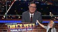 Stephen Colbert Presents: That's Yeet. Dabbing On Fleek, Fam!