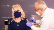 'Vaccine, Vaccine, Vaccine, Vaccine, I'm Begging of You, Please Don't Hesitate': Dolly Parton Gets Her COVID Jab
