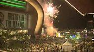 Video: Bucks fans get fireworks show after Game 3 win