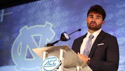 Mack Brown hinted at Sam Howell's NFL future, but UNC QB is focused on one thing