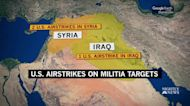 U.S. conducts airstrikes against Iran backed militia group