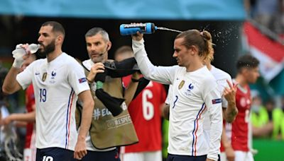 Griezmann defends Benzema as France attack struggles to fire