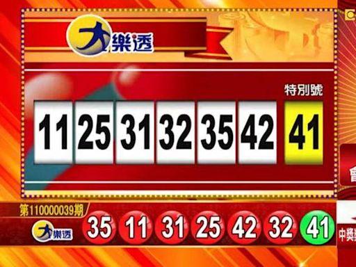 4/13 大樂透、雙贏彩、今彩539 開獎囉!