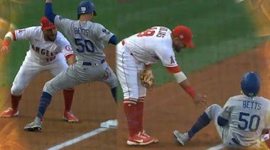 MLB●今日體片|「天使」意外偷桃 道奇跑壘員經歷男人最痛仲畀全場笑 | 蘋果日報