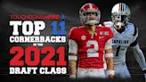 The top 11 cornerbacks in the 2021 NFL draft