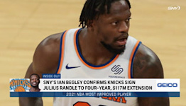 How does Julius Randle's extension impact the Knicks?   SportsNite