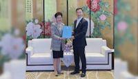 林鄭月娥訪問廣州 冀穗港金融、科技加強合作