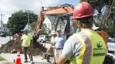 U.S. Rep. Peter Welch visits Bennington for look at infrastructure projects, downtown progress