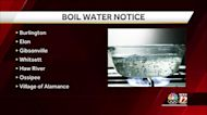 Burlington issues boil water notice after E. coli bacteria found, surrounding towns impacted