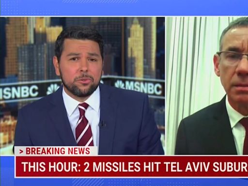 MSNBC Host Challenges Ex-Israel Ambassador on Possible 'War Crimes'
