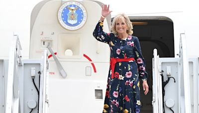 Jill Biden in Tokyo to represent US at Olympics opening ceremony