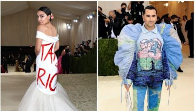 All of the celebrities who made political statements with their outfits at this year's Met Gala