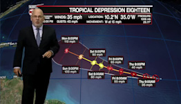 ROB'S WEATHER FORECAST PART 2 10PM 9-22-2021