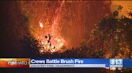 Brush Fire At Discovery Park Mostly Contained