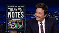 Thank You Notes: The Olympics, Summer Weddings