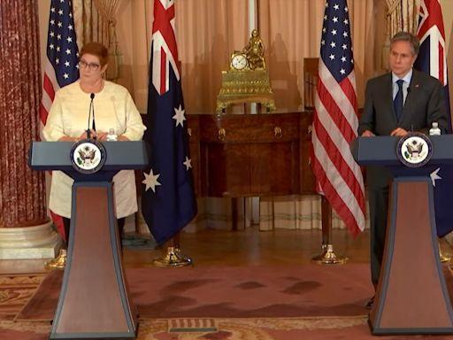 美卿:不讓澳洲獨自面對中國經濟脅迫