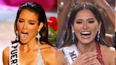 Photos of the exact moment 38 contestants found out they had won Miss Universe