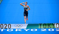 Bermuda triathlete Flora Duffy wins country's first-ever Olympic gold medal