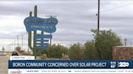 Boron community concerned over solar project