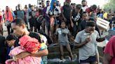 成千上萬拉美各國移民 擠滿美國德州邊界河岸--上報