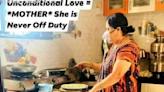 印度母親戴氧氣罩煮飯照片瘋傳!輿論炸鍋:這不是母愛