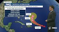Tracking Tropical Storm Peter