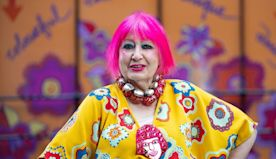 The iconic Dame Zandra Rhodes talks fashion in lockdown and dressing royalty