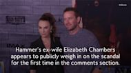 Armie Hammer's Ex-Wife Elizabeth Chambers Seemingly Addressed Allegations Against the Actor