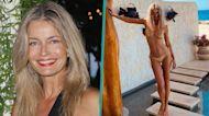 Paulina Porizkova Sizzles In Metallic Bikini On Tropical Vacation At 56: 'Sexy Has No Expiration Date'