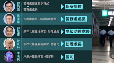 【7.21 兩年】案發時具指揮權 12 警官 5 升職 鄧炳強做局長 蕭澤頤變一哥 | 立場報道 | 立場新聞