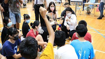 中市校園BNT疫苗開打 4名學生不適送醫